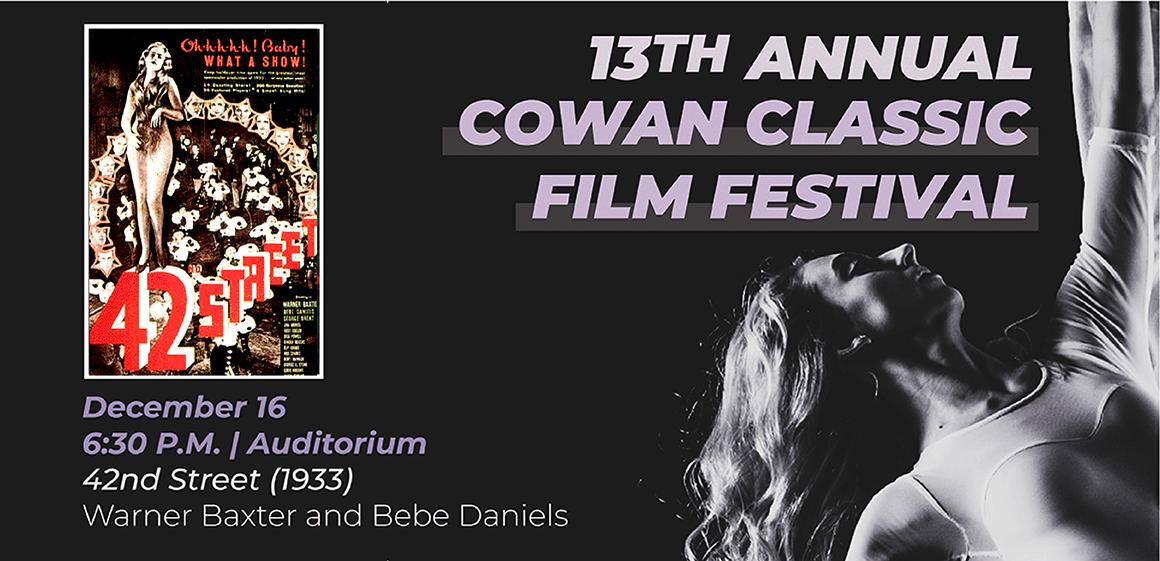 Cowan Film Fest: 42nd Street