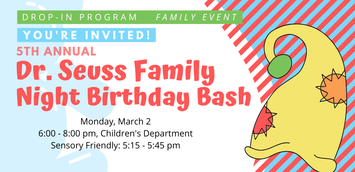3/2 - Dr. Seuss Birthday Bash