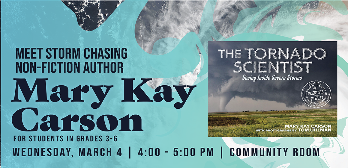3/4 - Meet Author Mary Kay Carson