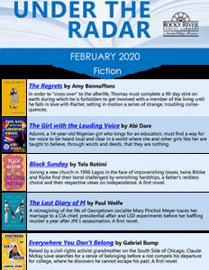 February Under the Radar titles