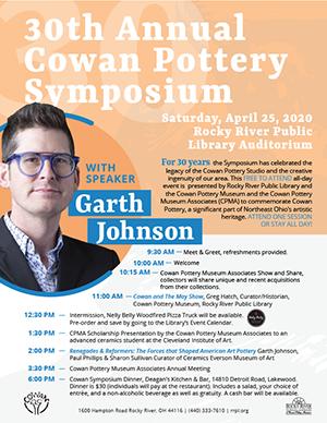 2020 Cowan Pottery Symposium