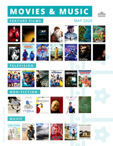 Movies and Music - May 2020