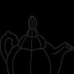 Cowan Coloring Pages - Teapot
