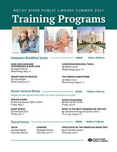 Training Programs - Summer 2021