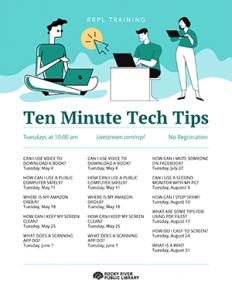 Summer Tech Tips