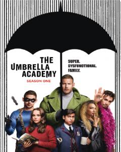 The Umbrella Academy Season One tv cover