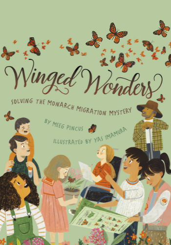 Winged Wonders by Meeg Pincus cover
