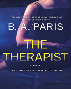 The Therapist by B. A. Paris