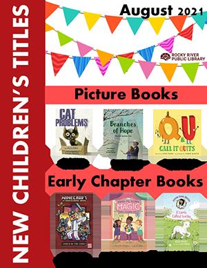 New Children's titles - August 2021