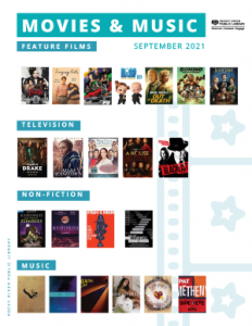 Movies and Music - September 2021