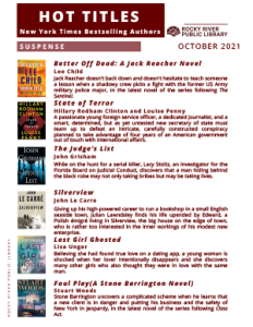 New York Times Hot Titles - October 2021